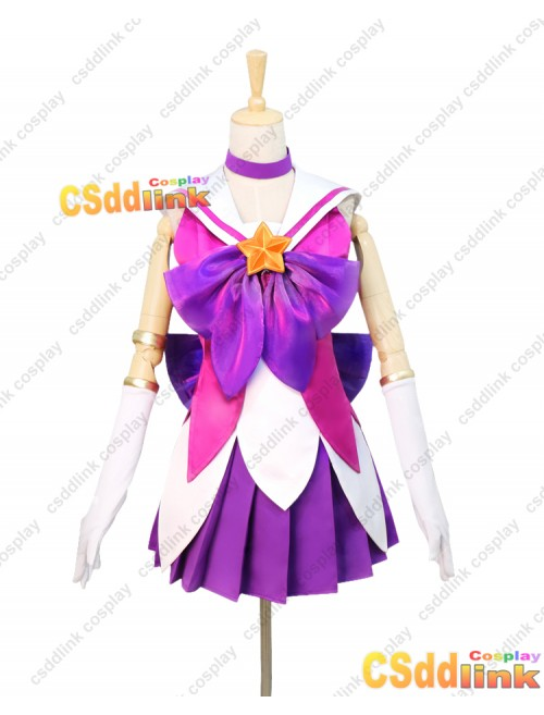LOL league of legends Lux Cosplay costume custom-size