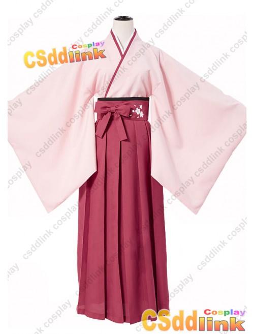 Fate grand order Okita Soji cosplay costume Sakura version custom-size