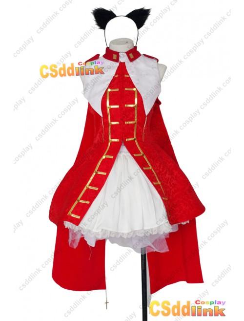 Fate Grand Orde Tosaka Rin cosplay costume custom-size