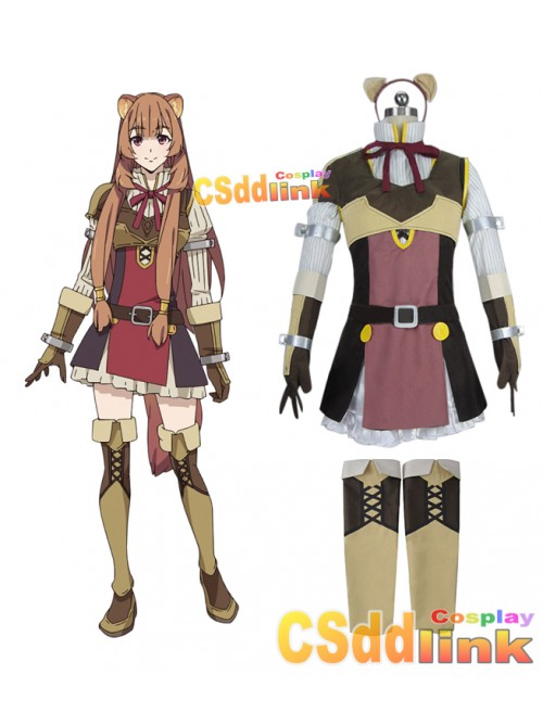 The Rising of the Shield Hero Raphtalia Cosplay costume custom-size