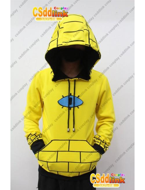 Gravity Falls bill Cipher Human Cosplay Hoodie Costume Ver 2 custom-size