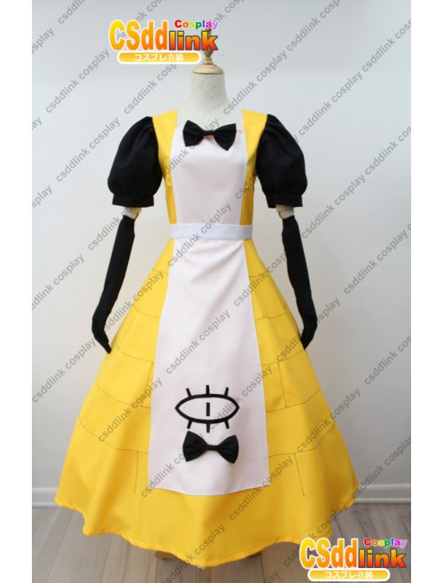 Gravity Falls bill Cipher Human ver Female Princess Cosplay Costume custom-size