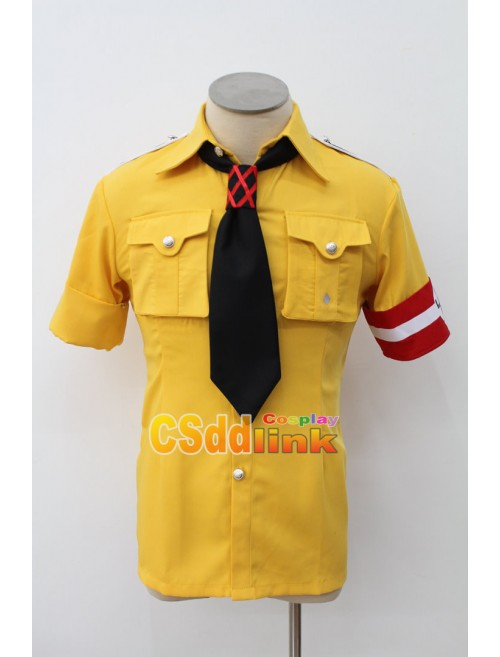 Hellsing Ultimate Schrodinger Cosplay costume T-shirt with gloves custom-size