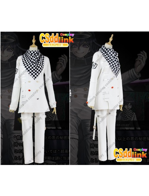 Danganronpa V3 Ouma Kokichi Oma cosplay costume school uniform with scarf custom-size