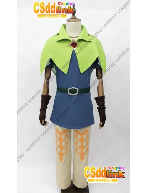 The Legend of Zelda Skyward Sword Groose Cosplay Costume custom-size