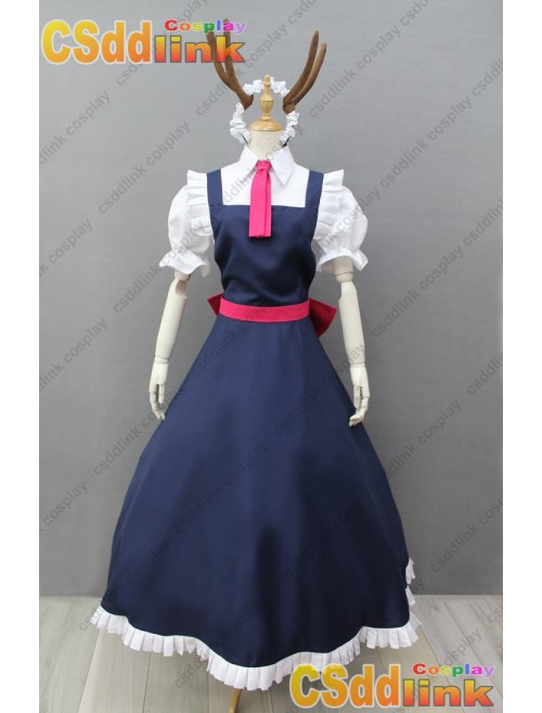 Miss Kobayashi's Dragon Maid Tohru Cosplay Costume with Tail custom-size