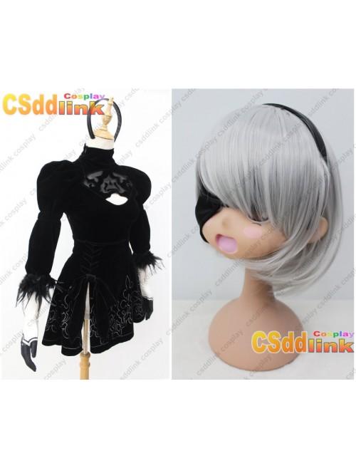 NieR Automata YoRHa No.2 Type B Cosplay Costume custom-size