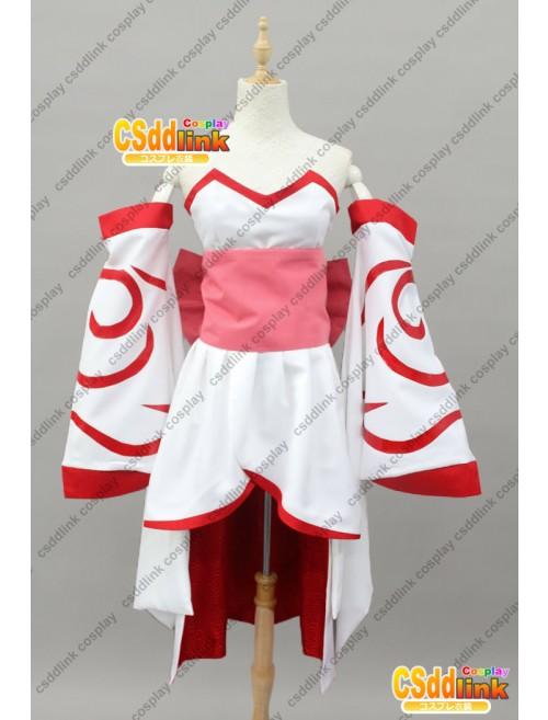 Okami Amaterasu Personified Cosplay Costume custom-size