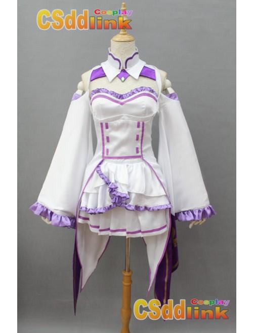 ReZero Starting Life in Another World Emilia Cosplay costume custom-size
