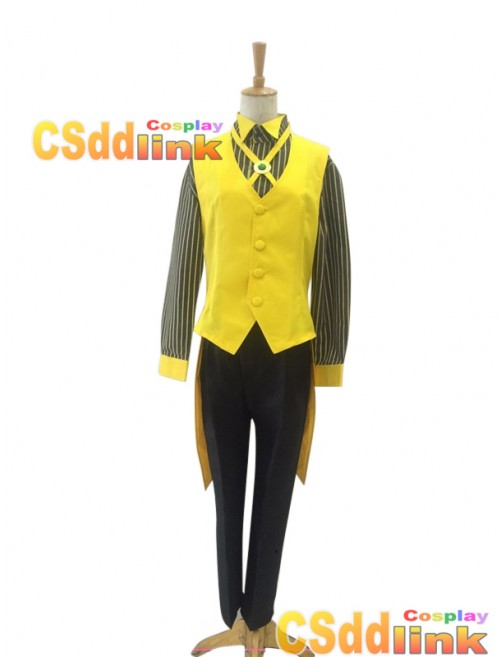 Gravity falls Bill Cipher Human Cosplay Costume Ver2 custom-size
