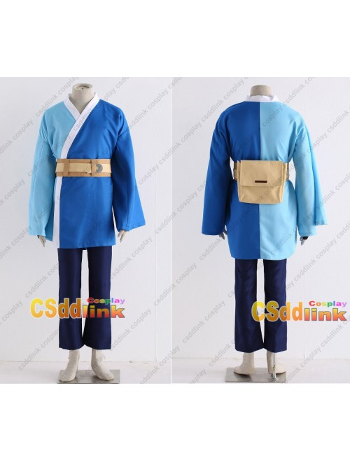 Boruto Mitsuki cosplay costume long sleeve blue custom-size