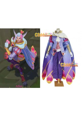 LOL league of legends Rakan The Rebel Valentine's Day Cosplay Costume custom-size