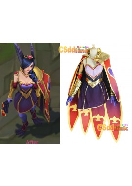 LOL league of legends Xayah The Rebel Valentine's Day Cosplay costume