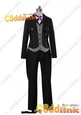 NEW Black Butler Sebastian Michaelis Claude Faustus Cosplay costume custom-size