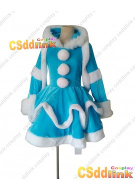 LOL league of legends Annie Cosplay costume snow version custom-size