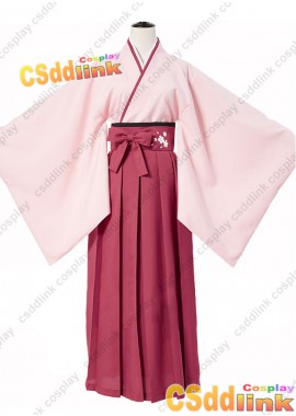 Fate grand order Okita Soji cosplay costume Sakura version custom-size