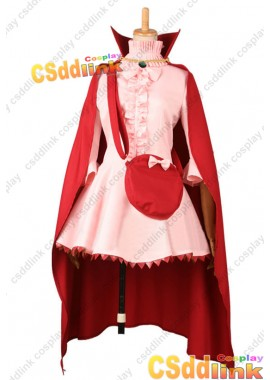 Fire Emblem Awakening Nah Cosplay Costum Pink Red Dress custom-size