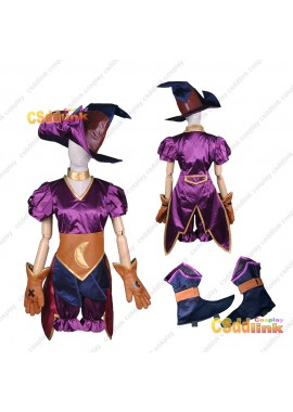 LOL league of legends Tristana Cosplay costume Halloween version custom-size