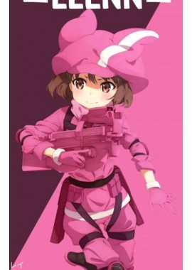 Sword art online alternative gun gale online LLENN cosplay costume custom-size