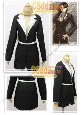 Ace Attorney Mia Fay Cosplay Costume custom-size