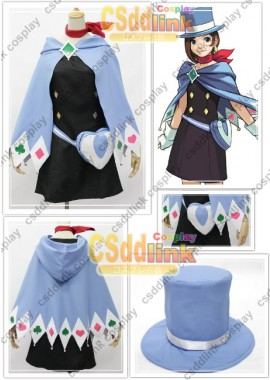 Ace Attorney Trucy Wright Cosplay Costume custom-size