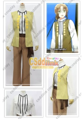 APH Axis Powers hetalia Lithuania cosplay costume season 5 custom-size