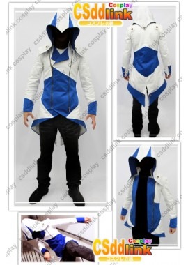Assassins Creed III conner kenway Casual Cosplay Costume Jacket 3 Color custom-size