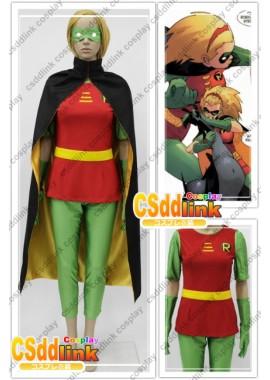 Batman Stephanie Brown / Robin cosplay costume custom-size
