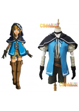 The Legend of Zelda Breath of the Wild Riju Cosplay Costume custom-size1
