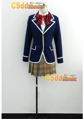 Shokugeki no souma san no sara Erina Nakiri uniform cosplay costume custom-size