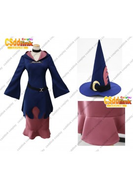 Little Witch Academia Ursula cosplay costume with hat custom-size