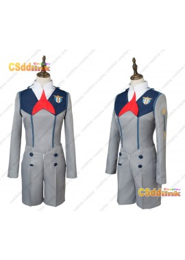 DARLING in the FRANXX Hiro Code 016 Uniform Cosplay Costume custom-size