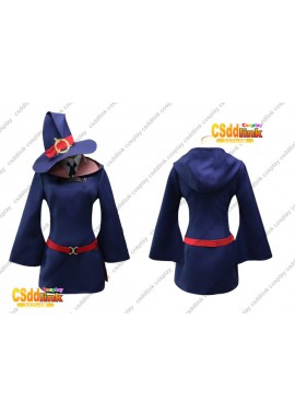 Little Witch Academia Atsuko Akko Kagari cosplay costume with hat custom-size