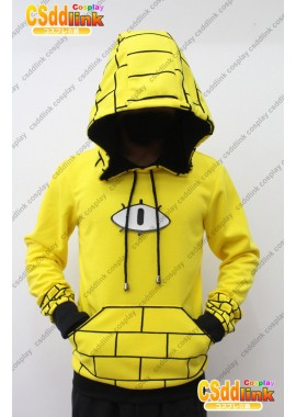 Gravity Falls bill Cipher Human Cosplay Hoodie Costume Ver 1 custom-size