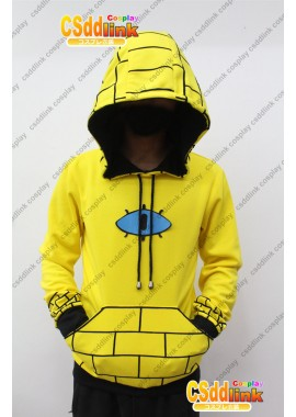 Gravity Falls bill Cipher Human Cosplay Hoodie Costume Ver 2 custom-size