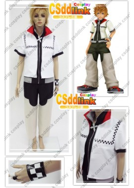 Kingdom Hearts 2 Roxas cosplay costume custome-size