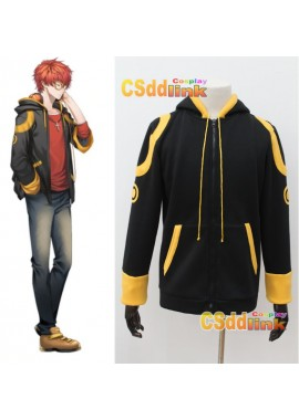 MYSTIC MESSENGER 707 Luciel Choi Saeyoung Cosplay Costume with glasses
