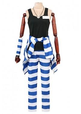 Nanbaka Uno 1311 cosplay costume with hat custom-size