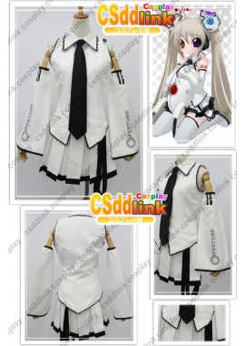 Portal Glados Chibi Hatsune Miku Cosplay Costume custom-size