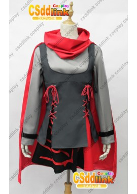 RWBY Ruby Rose Cosplay Costume custom-size1