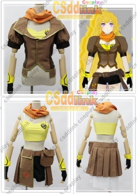 RWBY Yang Xiao Long Cosplay Costume custom-size