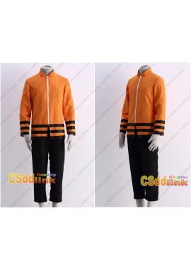 Boruto father naruto cosplay costume orange long sleeve shirt and pants custom-size
