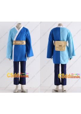 Boruto Mitsuki cosplay costume long sleeve blue custom-size
