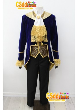 The Beauty and the Beast Prince Tuxedo Cosplay Costume custom-size