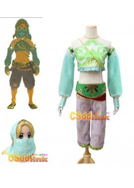 The Legend of Zelda Breath of the Wild Gerudo Cosplay Costume custom-size