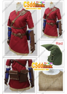 the legend of zelda twilight princess Red link custom-size