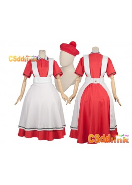 Cells at Work! AE3803 Erythrocyte Sekkekkyu Red Blood Cell Cosplay costume custom-size