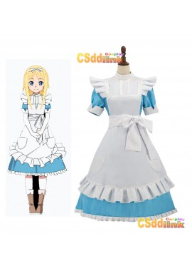 Sword Art Online Alicization UW ALICE Cosplay costume Blue custom-size