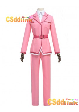 Cells at Work! Eosinophil Cosplay costume uniform Pink custom-size