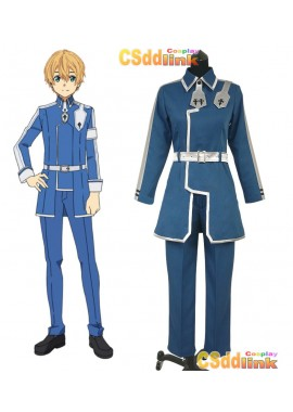 Sword Art Online Alicization UW Eugeo Cosplay Costume Blue custom-size
